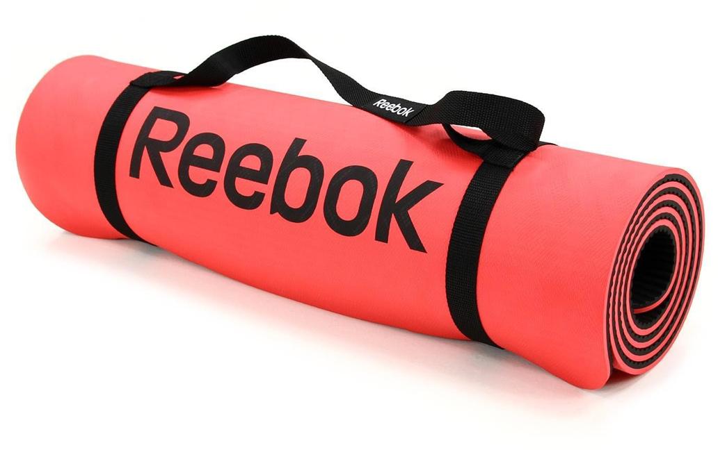 Тренировочный коврик для фитнеса Reebok, нескользящий, цвет: красный, толщина 8 ммRAMT-11024RDSКрасный фитнес-мат Reebok имеет толщину 8 мм, мягкое внешнее покрытие, размеры 173 x 61 см и подходит для всех видов растяжки и других упражнений. Его нескользящий материал позволит мату оставаться на месте на протяжение всей тренировки. Идеален для растяжки и общего фитнеса.Нескользящее текстурированное покрытие.Мягкое и удобное покрытие для тренировок.