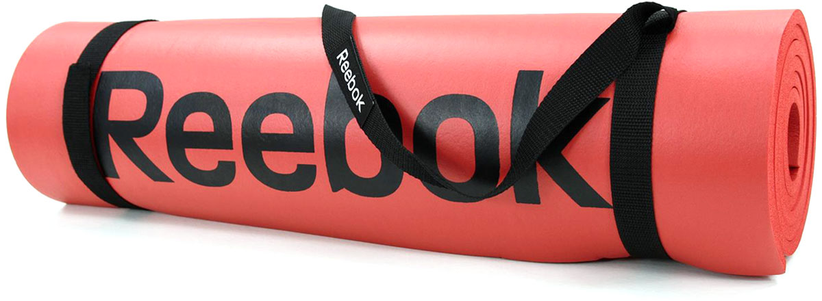 Тренировочный коврик для фитнеса Reebok, нескользящий, цвет: красный. RAMT-12235RDRAMT-12235RDБольше места для силовых тренировок! Тренировочный коврик Reebok имеет толщину 8 мм, дизайн с ромбами, мягкое и удобное покрытие, увеличенный размер - 183 x 61 см, и подходит для любых силовых упражнений при тренировках с собственным весом, таких как отжимания, планка и Spiderman.Его нескользящий материал позволит мату оставаться на месте на протяжение всей тренировки. Идеален для растяжки и силовых упражнений.Нескользящее текстурированное покрытие.Мягкое и удобное покрытие для тренировок.
