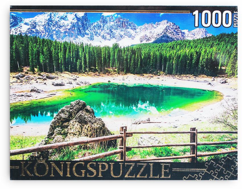 Konigspuzzle Пазл Италия Озеро радуги