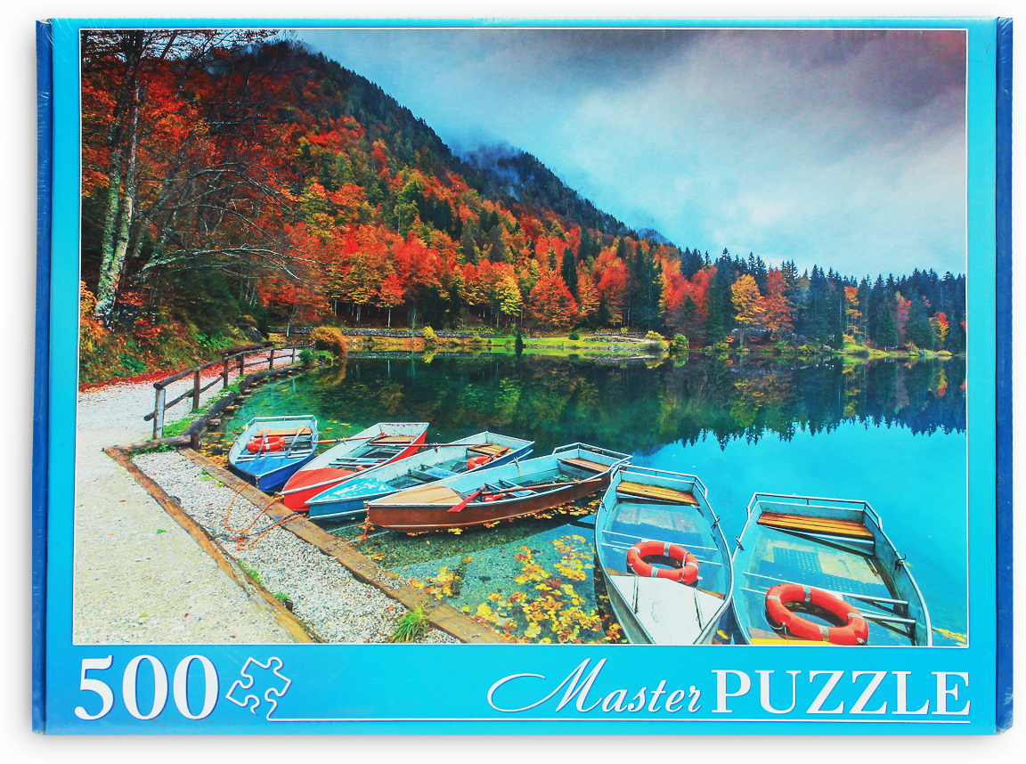 Masterpuzzle Пазл Альпы Озеро Фузине