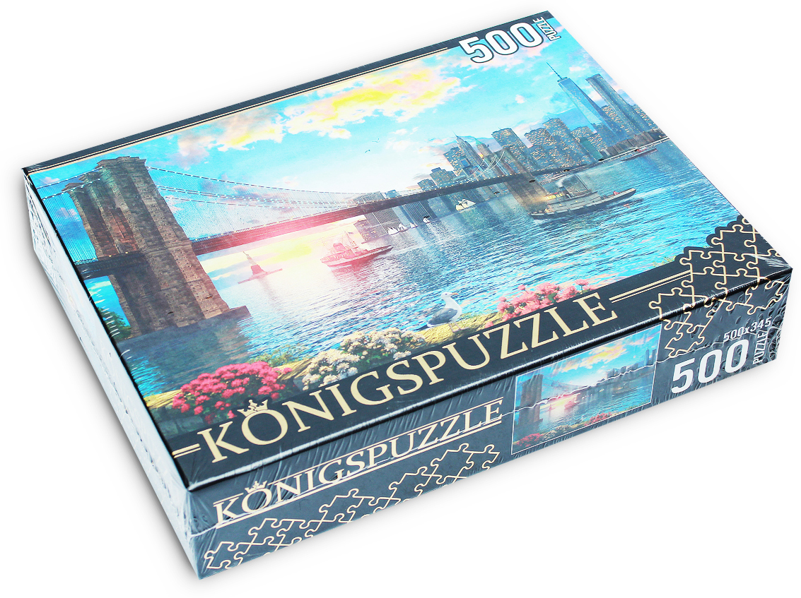 Konigspuzzle Пазл Доминик Дэвисон Бруклинский мост