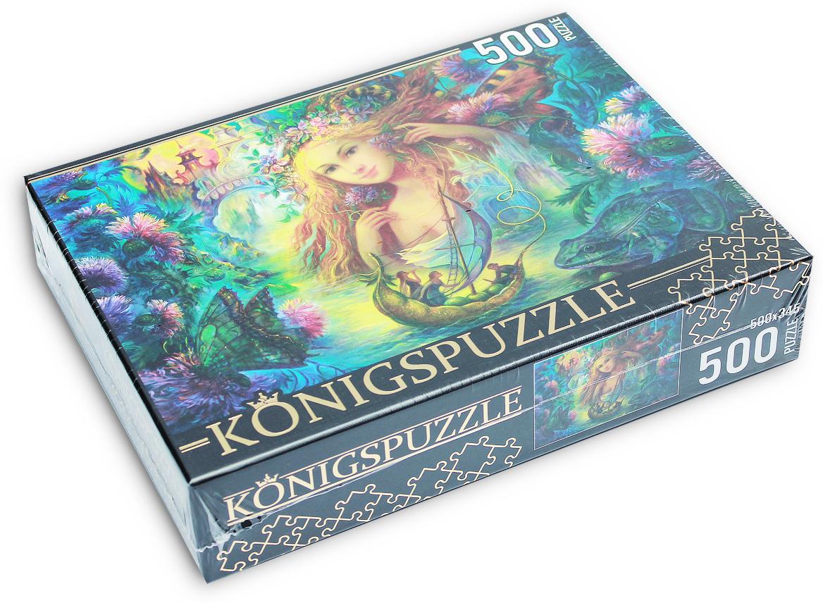 Konigspuzzle Пазл Надежда Стрелкина Водная фея