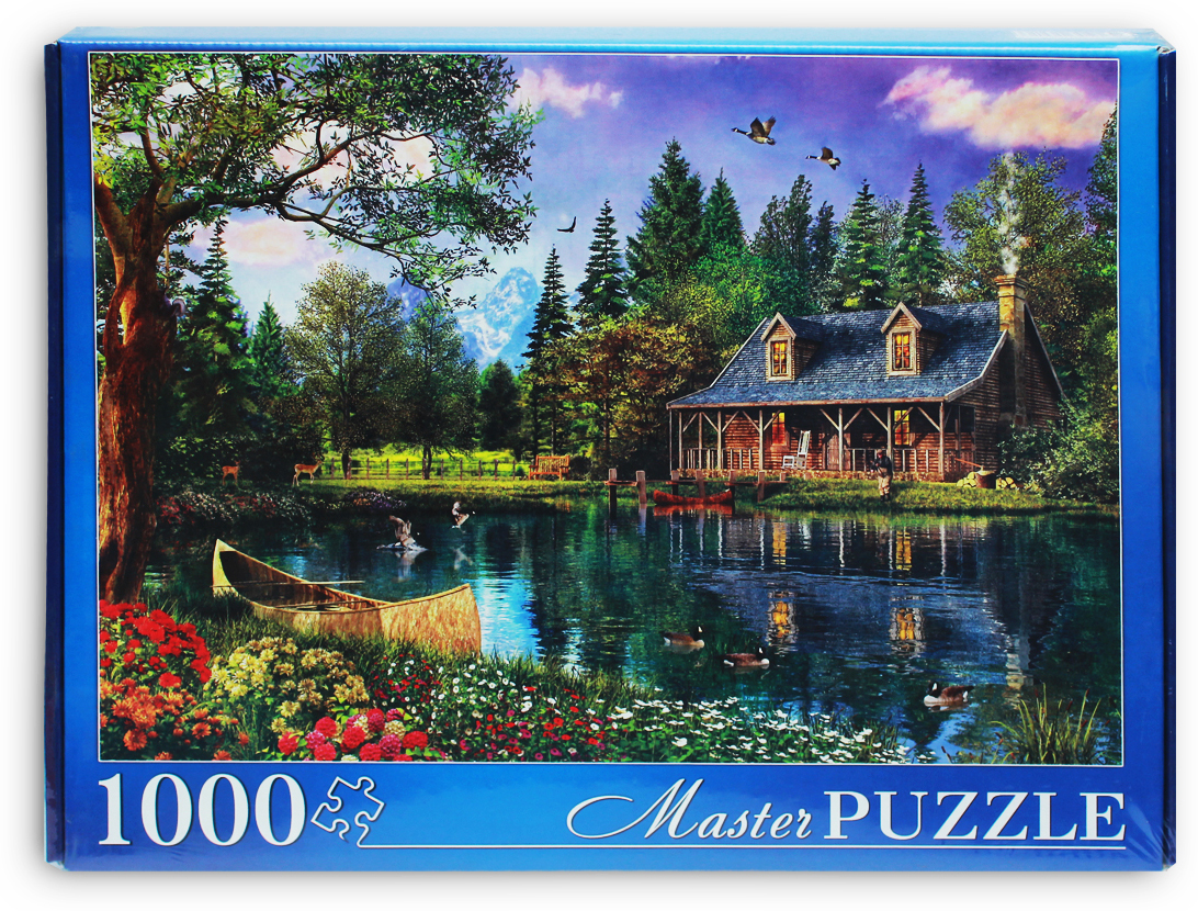 Masterpuzzle Пазл Доминик Дэвисон Дом у озера
