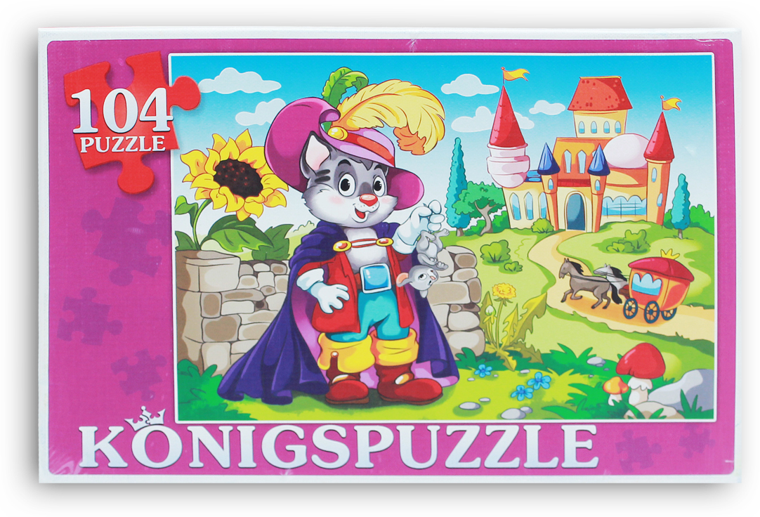 Konigspuzzle Пазл Кот в сапогах-1