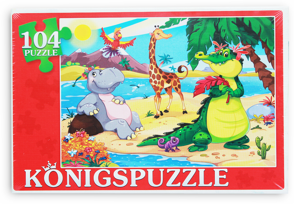 Konigspuzzle Пазл Мир животных