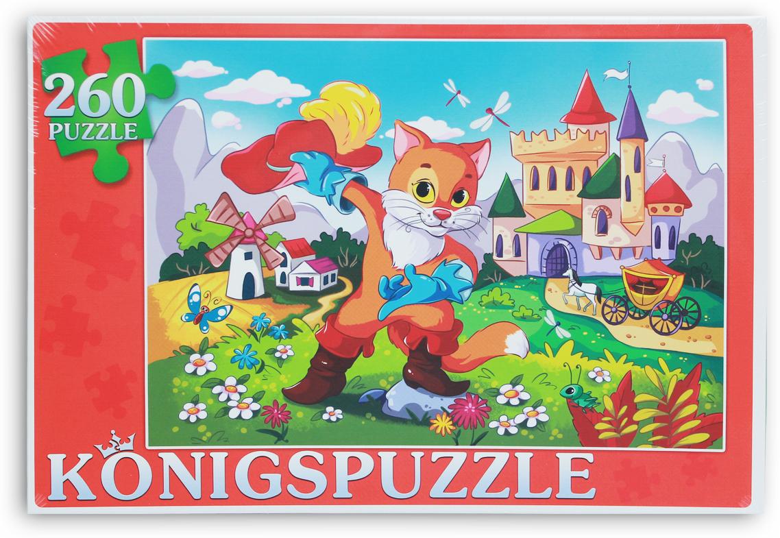 Konigspuzzle Пазл Кот в сапогах-2