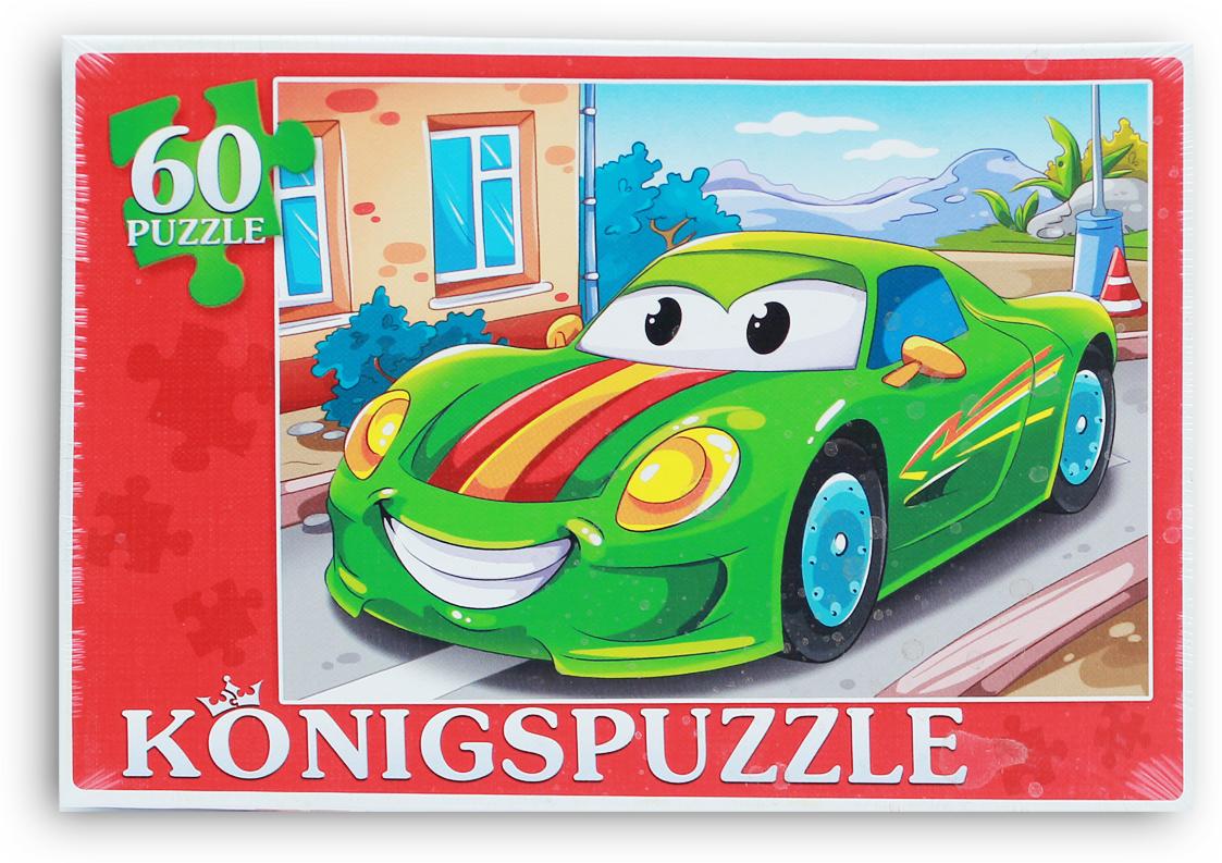 Konigspuzzle Пазл Спортивная машинка