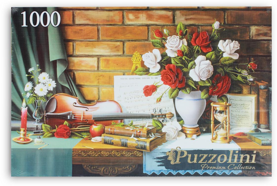 Puzzolini Пазл Красивый натюрморт со скрипкой