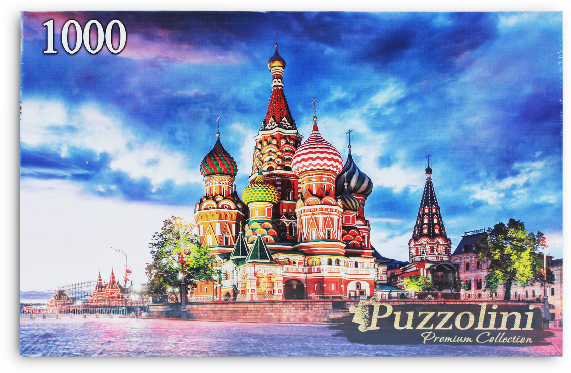 Puzzolini Пазл Москва Храм Василия блаженного