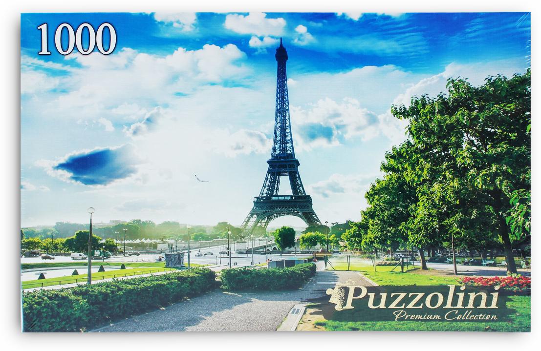 Puzzolini Пазл Париж Эйфелева башня