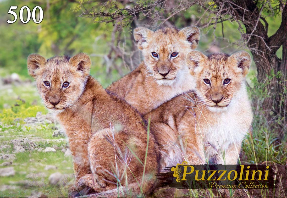 Puzzolini Пазл Три львёнка