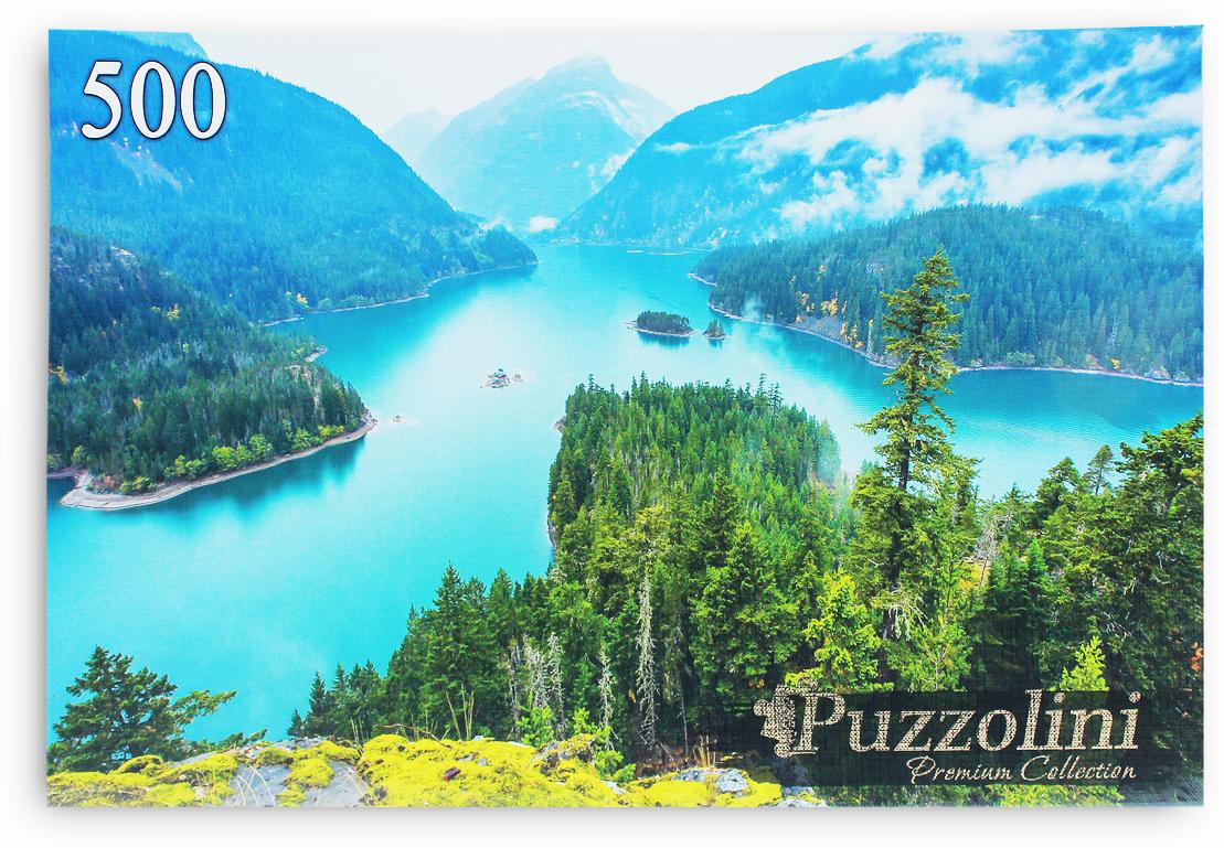 Puzzolini Пазл США Озеро Диабло