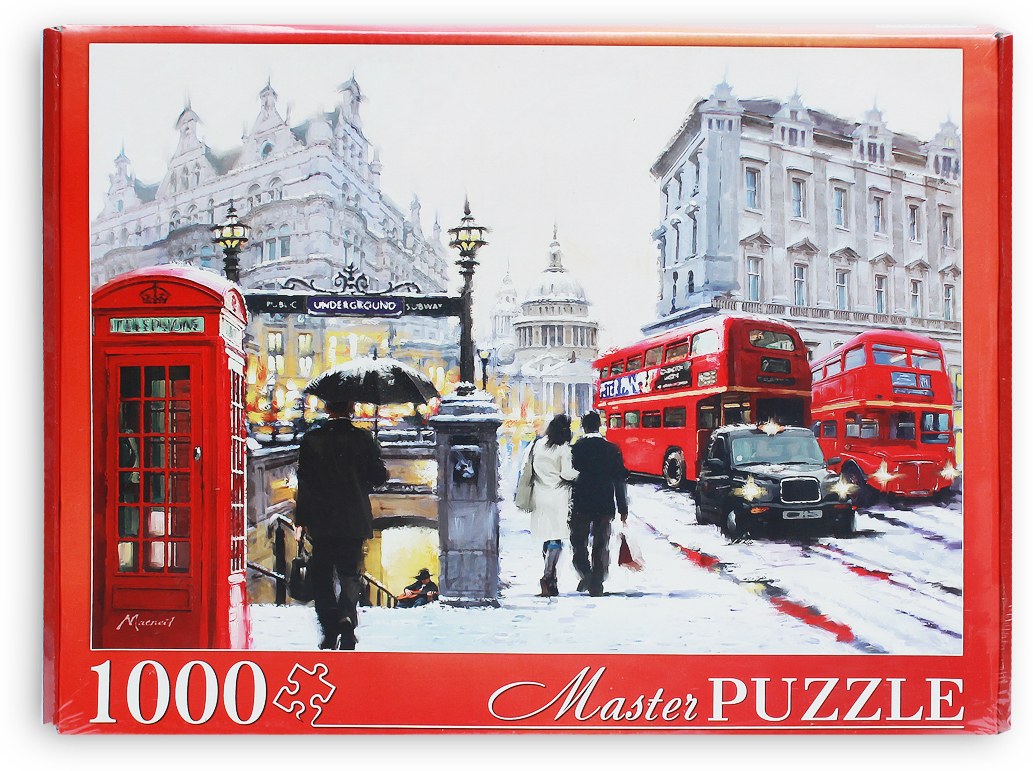 Masterpuzzle Пазл Ричард Макнейл Снежный Лондон