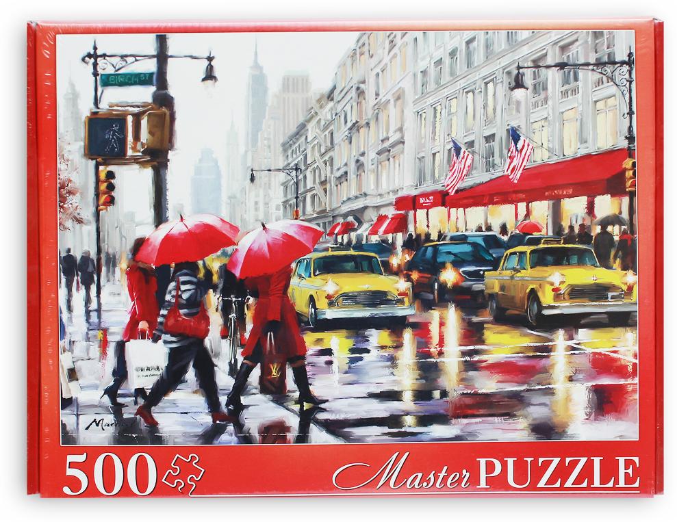 Masterpuzzle Пазл Ричард Макнейл Осенний Нью-Йорк