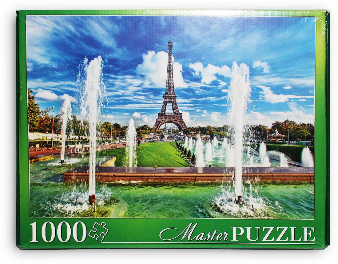 Masterpuzzle Пазл Эйфелева башня и фонтаны