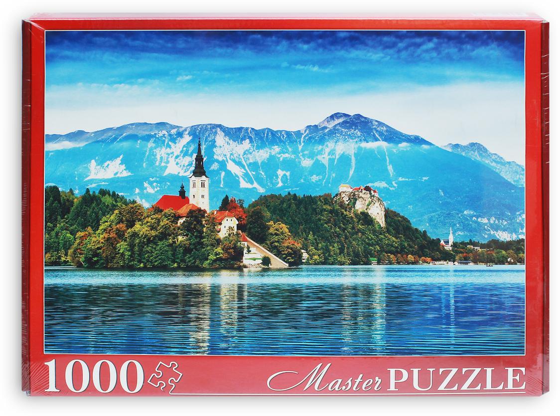 Masterpuzzle Пазл Словения Озеро Блед