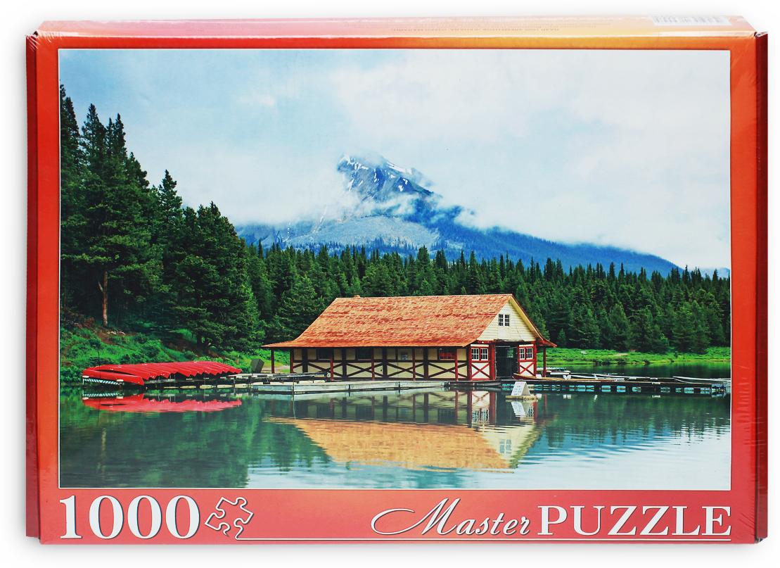 Masterpuzzle Пазл Канада Озеро Малайн