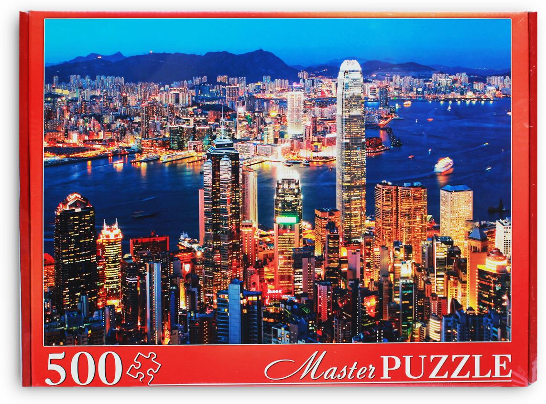 Masterpuzzle Пазл Ночной Гонконг