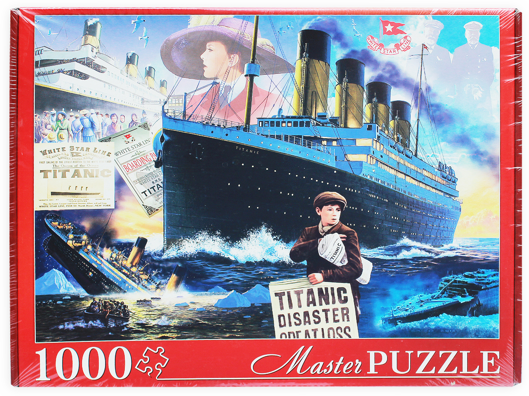 Masterpuzzle Пазл Титаник