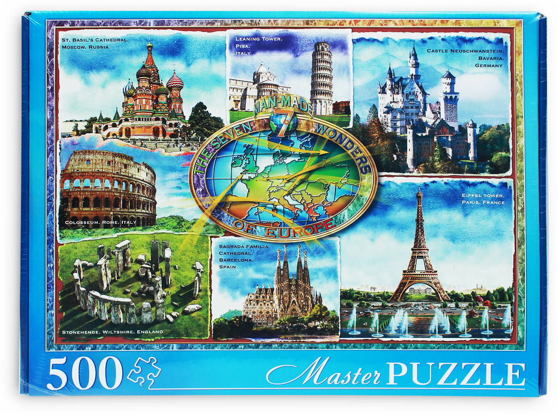 Masterpuzzle Пазл Чудеса архитектуры