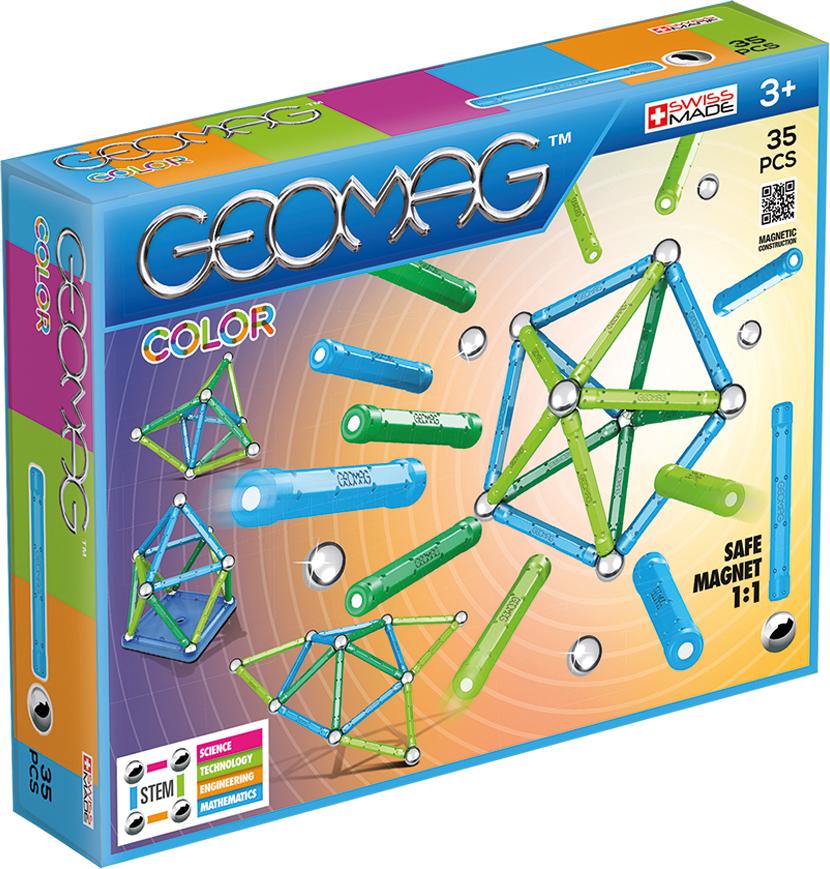 Geomag Конструктор магнитный Color 35 элементов - Конструкторы