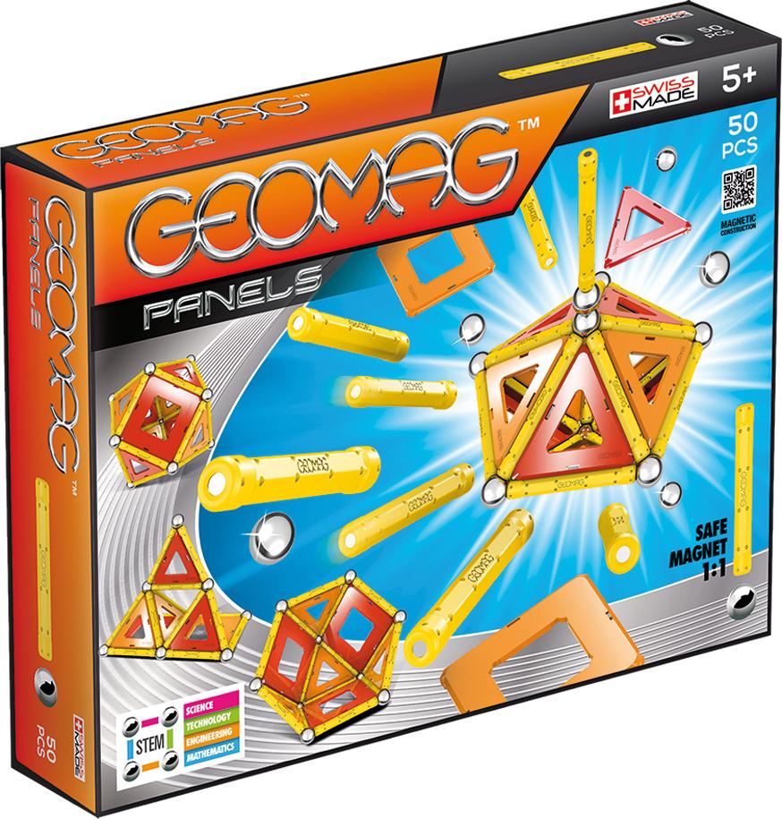 Geomag Конструктор магнитный Panels 50 элементов geomag конструктор магнитный mechanics 164 элемента
