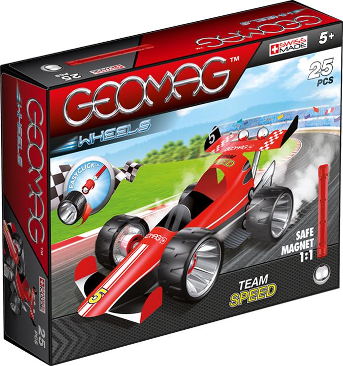 Geomag Конструктор магнитный Wheels 25 элементов 710