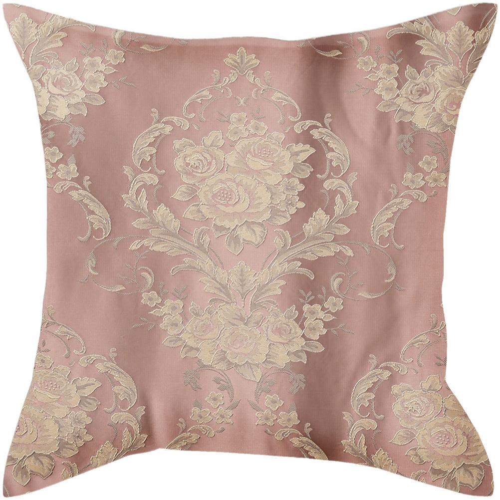Наволочка декоративная Garden, цвет: розовый, 40 х 40 см. N 537205 V4 наволочка декоративная wess illusion цвет желтый 40 х 40 см