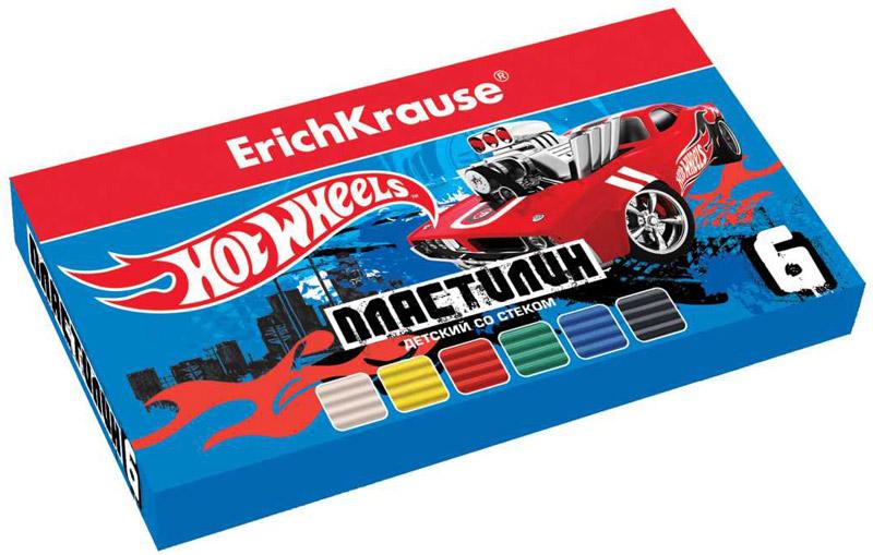 Mattel Пластилин Hot Wheels Super Car 6 цветов39626Классический школьный пластилин в удобной картонной коробочке. Сохраняет свою форму, не застывает на воздухе. Цветовая палитра содержит яркие, насыщенные цвета, которые хорошо смешиваются между собой. Брусочки классического пластилина весом 18 г упакованы в пленку. В каждой коробочке имеется стек для моделирования, с помощью которого ребенку будет удобно не только нарезать пластилин, но и наносить на поделки разнообразные узоры.