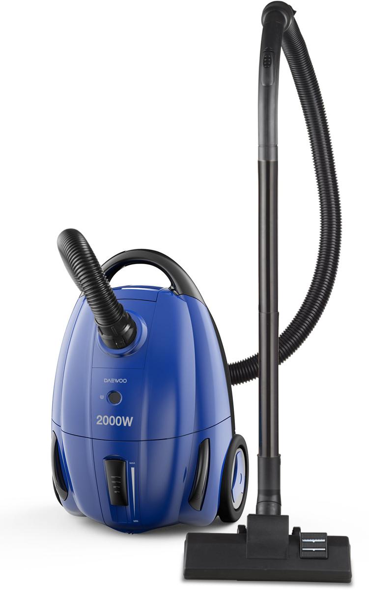 Daewoo RGJ-250S, Blue пылесосRGJ-250SМешковый пылесос RGJ-250S с потребляемой мощностью 2000 Вт и мощностью всасывания 260 Вт обеспечит чистоту вашего дома. Модель пылесоса представлена в синем цвете.