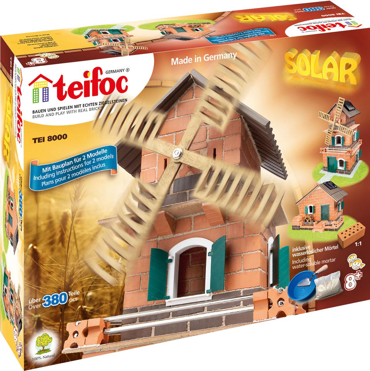 Teifoc Строительный набор Ветряная мельница TEI 8000