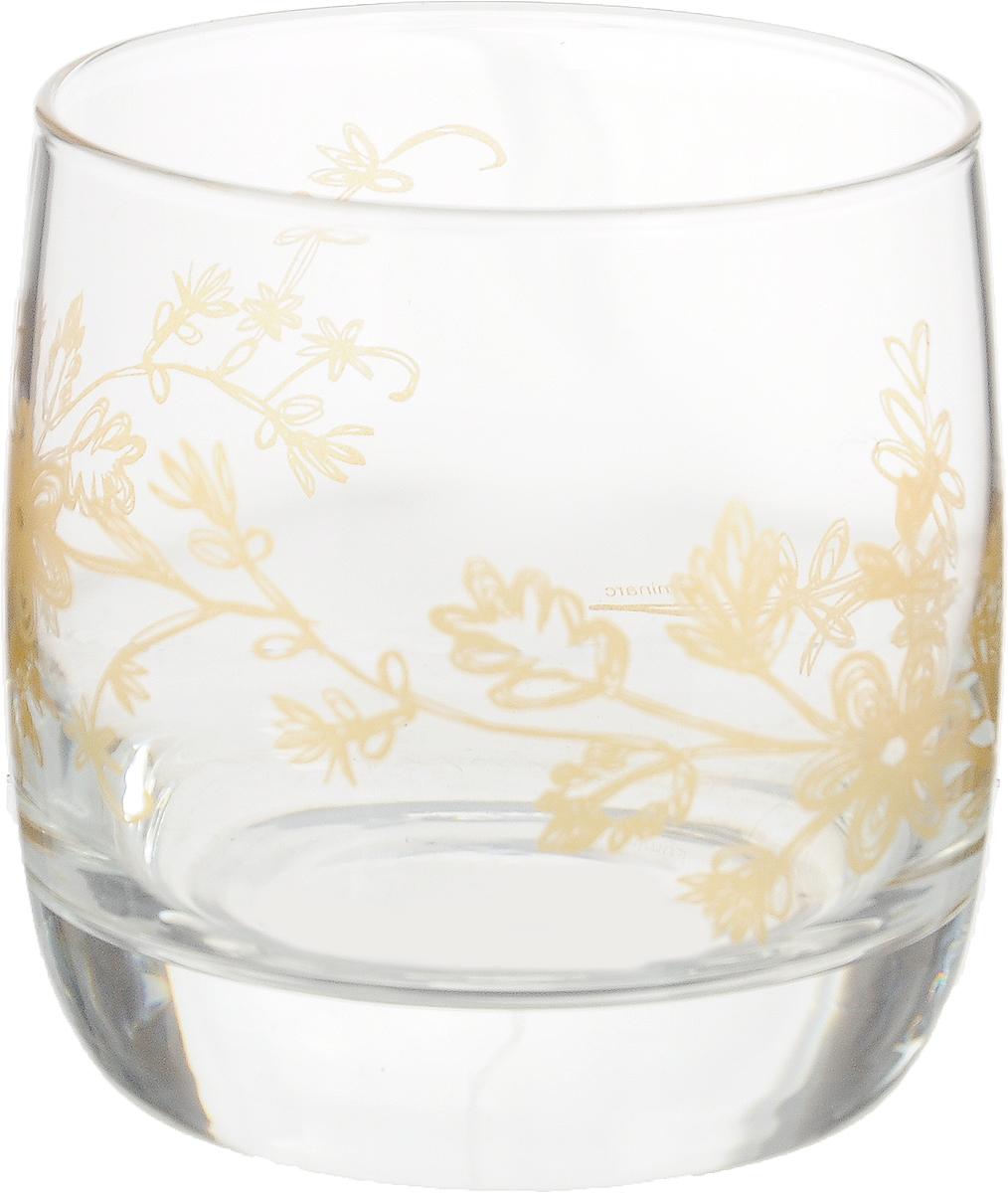 """Стакан OSZ """"Летний микс"""" выполнен из высококачественного бесцветного стекла и украшен ярким принтом. Идеально подходит для сервировки стола.      Такой стакан не только украсит ваш кухонный стол, но и подчеркнет прекрасный вкус хозяйки."""