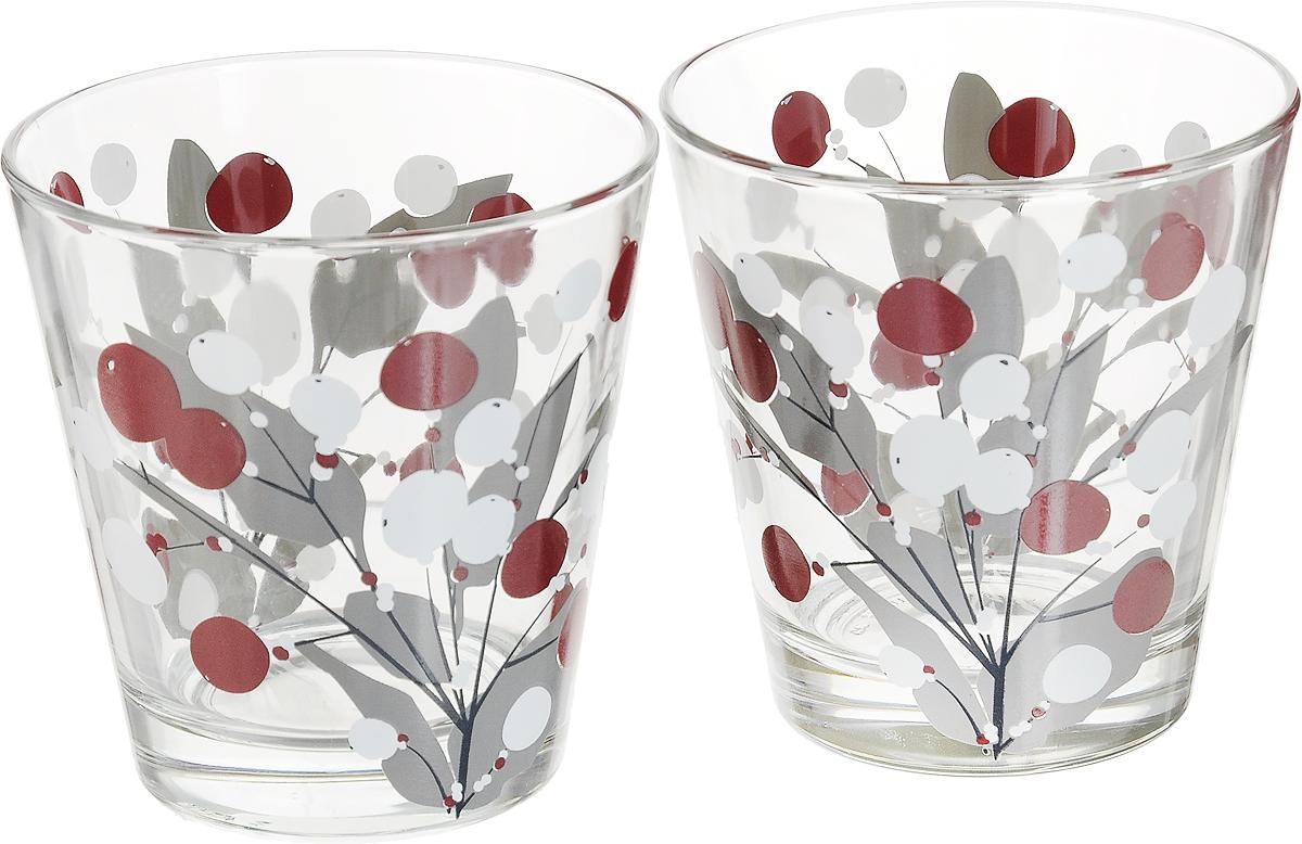 Набор стаканов Muurla Snowberry, цвет: прозрачный, 2 шт305-027-06Набор стакан Muurla Snowberry с оригинальным принтом изготовлен из стекла. Такой набор прекрасно подойдет для различных напитков. Он дополнит коллекцию вашей кухонной посуды и будет служить долгие годы.В набор входит 2 стакана.