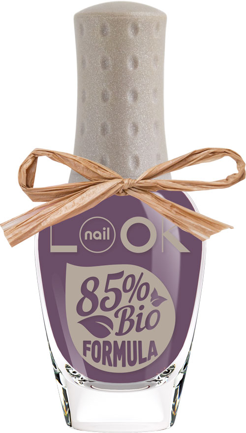 nailLOOK Лак для ногтей BIO Formula Polish, тон Purple Gumdrop, 8,5 мл31608Инновационная коллекция лаков BIO.Революционная формула с натуральным составом. Сертифицированная формула содержит 85% ингредиентов растительного происхождения-это вытяжка из овощей и злаков: картофеля, кукурузы, пшеницы и маниоки. Линия BIO эксклюзивна, так как совмещает в себе две инновации: возможность пропускать воздух и воду, замена стандартной нитроцеллюлозы в составе на природную, которая является вытяжкой из овощей. В составе лаков содержится олиго-полимер нового поколения применяемый в современных дышащих контактных линзах. Полимер создает гибкую защитную пленку, которая пропускает воздух и воду к ногтевой пластине.