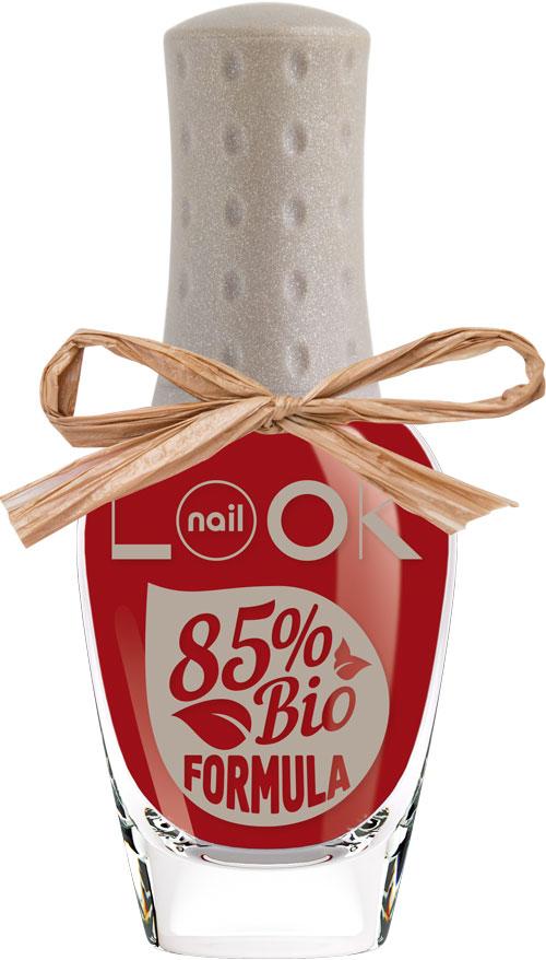 nailLOOK Лак для ногтей BIO Formula Polish, тон Flame Scarlet, 8,5 мл31611Инновационная коллекция лаков BIO.Революционная формула с натуральным составом. Сертифицированная формула содержит 85% ингредиентов растительного происхождения-это вытяжка из овощей и злаков: картофеля, кукурузы, пшеницы и маниоки. Линия BIO эксклюзивна, так как совмещает в себе две инновации: возможность пропускать воздух и воду, замена стандартной нитроцеллюлозы в составе на природную, которая является вытяжкой из овощей. В составе лаков содержится олиго-полимер нового поколения применяемый в современных дышащих контактных линзах. Полимер создает гибкую защитную пленку, которая пропускает воздух и воду к ногтевой пластине.