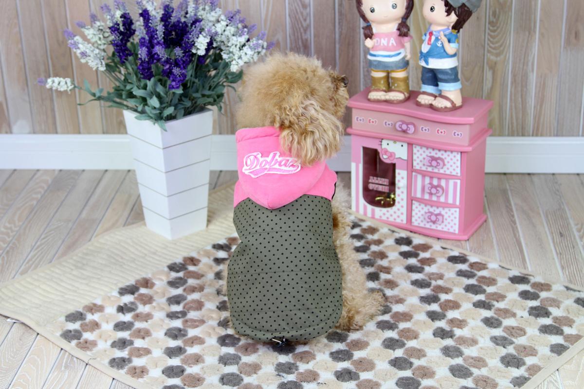 Куртка для собак Dobaz, цвет: серый, черный. ДА1228СХЛ. Размер XLДА1228СХЛОчень теплая курточка для собак Dobaz без рукавов выполнена из мягкой ткани. Подклад - текстильный мех. Обхват шеи: 34 см.Обхват груди: 54 см.Длина спинки: 36 см.Одежда для собак: нужна ли она и как её выбрать. Статья OZON Гид