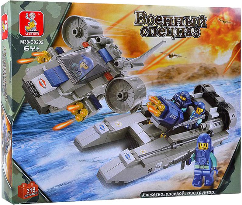 Sluban Конструктор Военный спецназ Военный спецназ флота конструкторы sluban box военный спецназ m38 b0206r 273 элемента