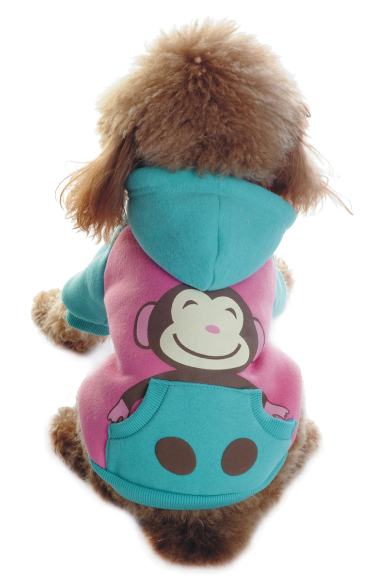 Куртка для собак Dobaz, цвет: бирюзовый, розовый. ДА1121АМ/п. Размер MДА1121АМ/пОчаровательная мягкая курточка Dobaz для вашего верного друга не стесняет движений и не шуршит. Защищает от холода и ветра. Изделие отлично подойдет для использования в прохладную погоду, поэтому вам не придется отказываться от прогулки с вашим четвероногим другом, боясь, что он заболеет. Обхват шеи: 27 см.Обхват груди: 42 см.Длина спинки: 28 см.Одежда для собак: нужна ли она и как её выбрать. Статья OZON Гид