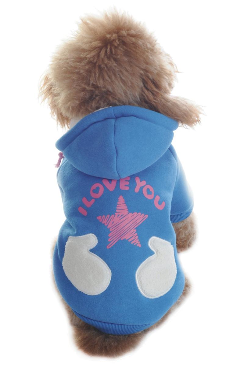 Куртка для собак Dobaz, цвет: голубой. ДА1122БЛ/п. Размер LДА1122БЛ/пКуртка Dobaz для собак выполнена из трикотажа и дополнена карманом.Обхват шеи: 31 см.Обхват груди: 48 см.Длина спинки: 33 см.Одежда для собак: нужна ли она и как её выбрать. Статья OZON Гид