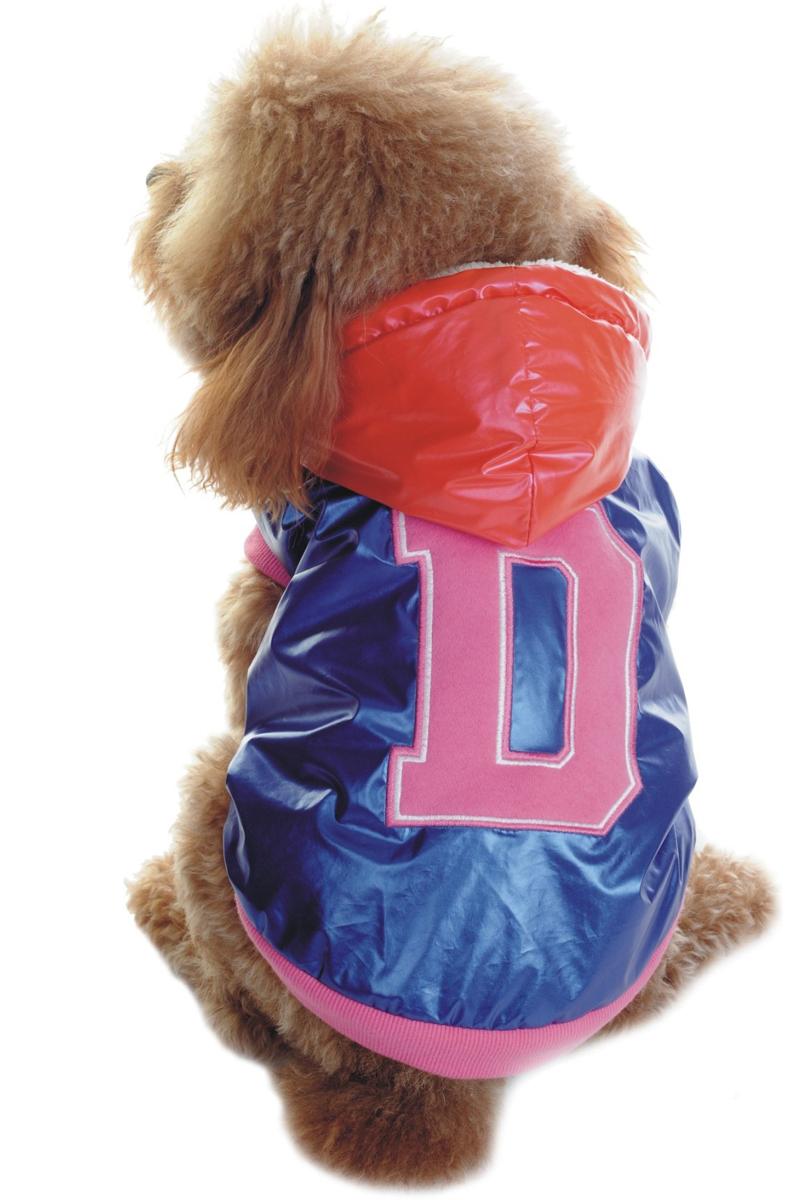 Куртка для собак Dobaz D, утепленная, цвет: синий. ДА1125АХЛ/п. Размер XL d a p феромон для собак