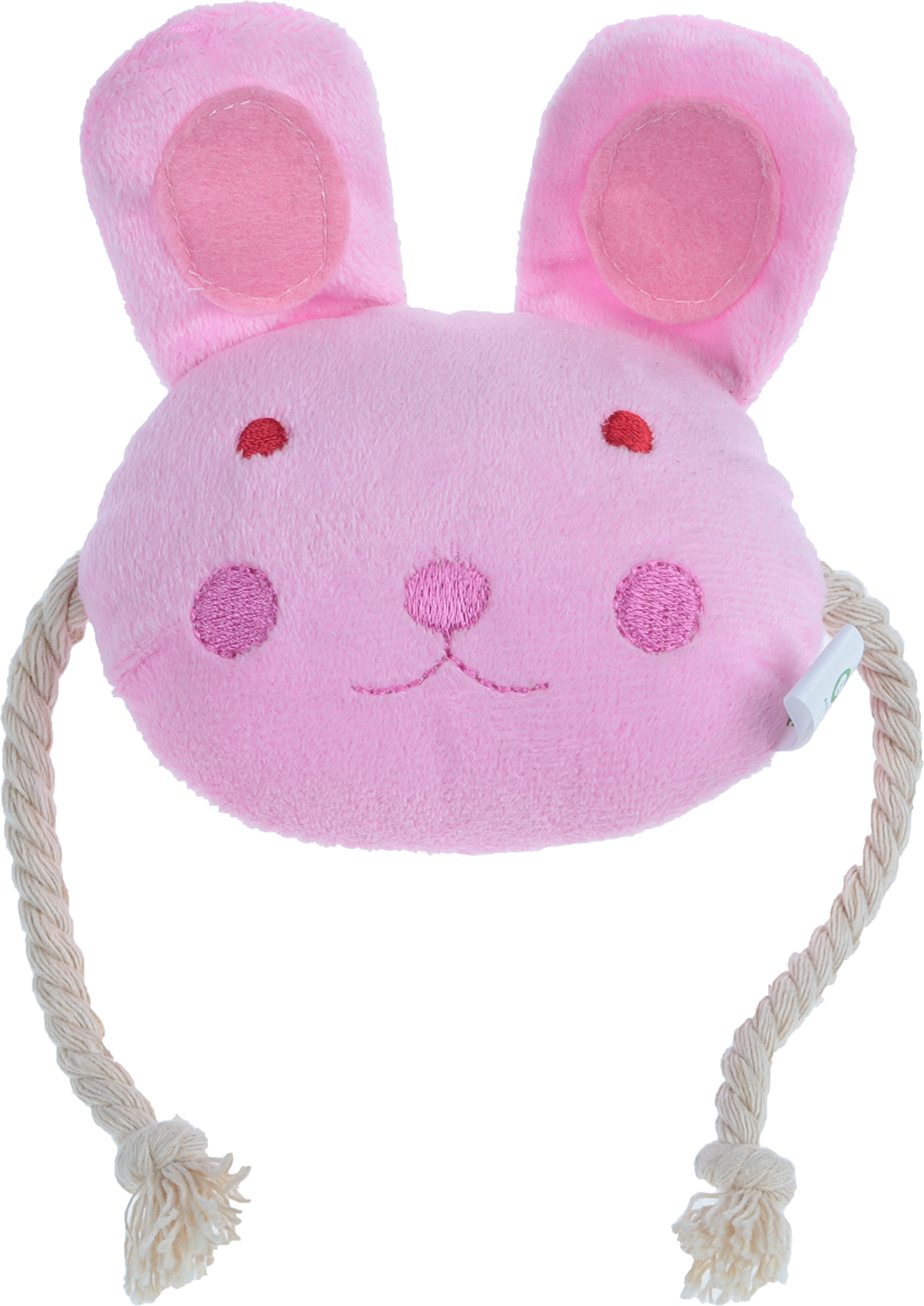 Игрушка для животных GLG Веселая семейка Заяц, цвет: розовыйD-2365-WИгрушка для животных GLG Веселая семейка. Заяц изготовлена из мягкого плюша. Мордочка зайчонка сдвумяканатными веревочками по бокам поможет занять щенка или котенка, разнообразит их игры. Игрушка подойдет идля взрослых животных. Легкая забавная игрушка с синтепоновой набивкой внутри снабжена пищалкой, чтовызовет дополнительный интерес вашегопитомца.Такая игрушка порадует вашего любимца, а вам доставит массуприятных эмоций, ведь наблюдать за игрой всегда интересно иприятно.Уход: возможна влажная чистка.Размер игрушки: 10 х 10 х 5 см.