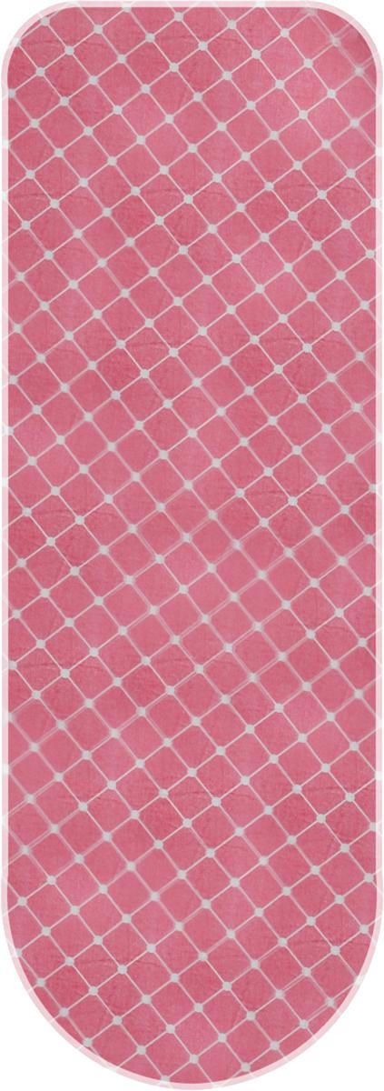 Чехол для гладильной доски Paterra, антипригарный, с поролоном, цвет: розовый, белый, 126 х 46 см402-485_розовый,белыйАнтипригарный чехол для гладильной доски Paterra необходим дляобеспечения идеального результата в процессе глажения вещей. Он имеетхлопковую основу с особой антипригарной пропиткой из силикона, котораяисключает пригорание одежды к чехлу в процессе глажения.Силиконовая пропитка обеспечивает эффект двустороннего глажения: чехол,нагреваясь, отдает тепло вещам. Натуральный хлопок в составе обеспечиваетмаксимальную скорость скольжения утюга и 100% паропроницаемость.Хлопковый чехол имеет подкладку из поролона (мягкого пенополиуретана)оптимальной толщины (4 мм), которая не истончается со временем.Затяжной шнур определяет удобную и надежную фиксацию чехла на доске.Кроме того, наличие шнура делает чехол пригодным для гладильной доскилюбой формы и меньшего размера. Край хлопкового чехла обработан особойлентой, предотвращающей распускание ткани. Устойчивый рисунок сохраняетсядлительное время, даже под воздействием высоких температур. Размер чехла: 126 х 46 см. Максимальный размер доски: 125 x 38 см. Толщина подкладки: 4 мм.