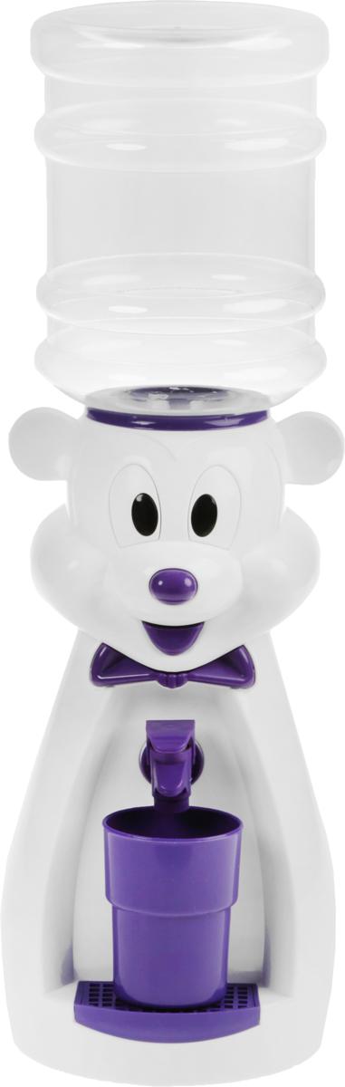 Vatten Kids Mouse, White Purple кулер (со стаканчиком)4630014931661_белый, фиолетовыйДетский кулер Vatten Kids Mouse для любимых напитков вашего ребёнка!Папы и мамы тоже могут присоединиться!Отлично подойдет для применения в детской, на кухне, в офисе и на пикнике.Чисто и гигиеничноЛегко налить 8 стаканов воды или любимых напитков. Ваш самостоятельный ребёнок не обожжётся, не зальёт соседей водой и не будет ходить за вами с чашкой. Никаких проводов и электричества.Объем бутылки: 2,5 л.Уважаемые клиенты! Обращаем ваше внимание на цветовой ассортимент стаканчиков. Поставка осуществляется в зависимости от наличия на складе.