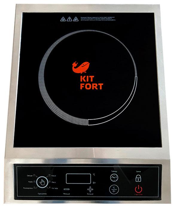 Kitfort КТ-111, Gray Metallic плита настольная - Настольные плиты