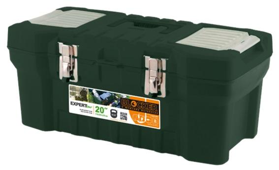 Органайзер рыболовный Blocker Expert Tour, цвет: темно-зеленый, 51 х 26 х 22 смBR3733ТЗЛЯщик для переноски и хранения рыболовных и охотничьих принадлежностей, а также для личных вещей, необходимых на отдыхе и в путешествии. Конструкция предусматривает повышенные нагрузки. Надежные металлические замки, два встроенных органайзера для мелочей, внутренний лоток с эргономичной ручкой. Возможность использования навесного замка. Выдерживает вес не менее 55 кг.