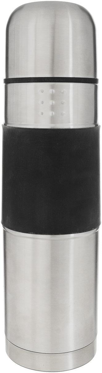 Термос BergHOFF Orion, 1 л1107165Термос BergHOFF Orion изготовлен из из нержавеющей стали и пластика. Благодаря матовой полировке и уникальному дизайну, термос будет очень удобно и приятно ощущать в руках. Материал отличается высокими антикоррозионными свойствами, устойчив к воздействию кислот и щелочей, не изменяет вкус и цвет пищи и совершенно безвреден. Корпус имеет двойные стенки. Термос оснащен герметичной пробкой на резьбе, не требующей полного открывания. Чашка для питья с резиновым основанием препятствует скольжению и падению. Отлично подходит как для горячих так и для холодных напитков. Диаметр горлышка: 5 см.Высота: 33 см.