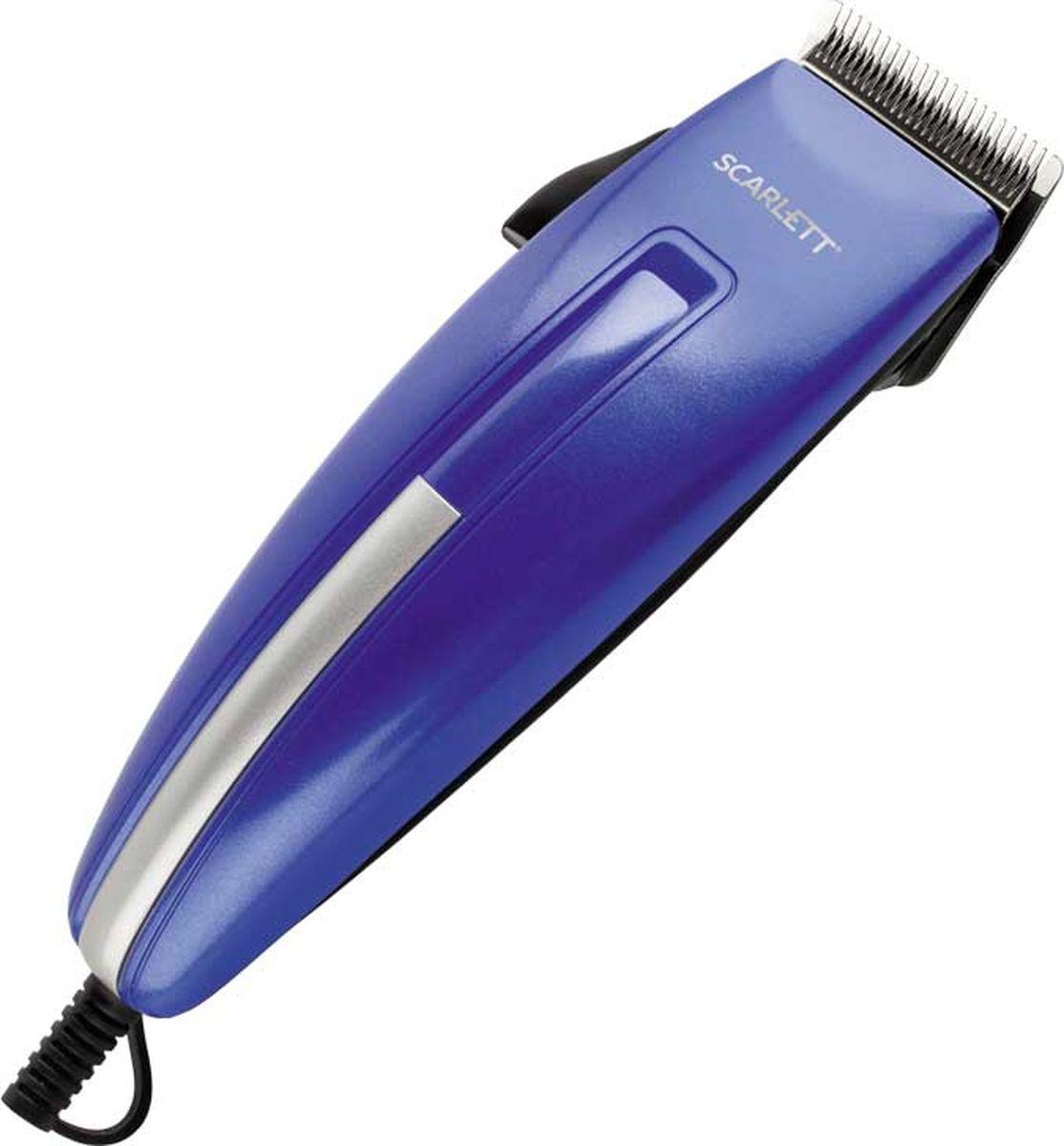 Scarlett SC-HC63C10, Blue машинка для стрижки волос машинка для стрижки волос scarlett sc hc63c07