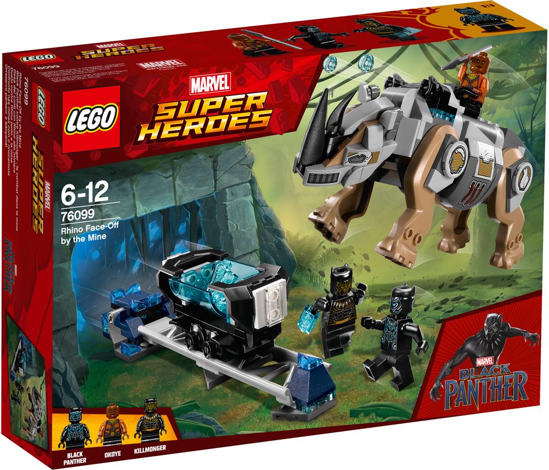 LEGO Super Heroes Конструктор Поединок с Носорогом 76099 конструктор lego super heroes 76055 бэтмен убийца крок