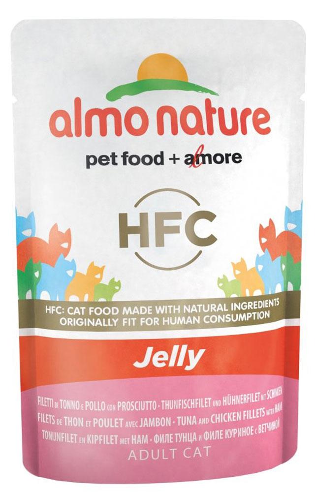 Консервы для кошек Almo Nature Classic, тунец, курица и ветчина в желе, 55 г20483Консервы Almo Nature Classic – восхитительно вкусный функциональный влажный корм длякошек, содержащий желатин, который является натуральным средством для вывода шерсти изорганизма кошки, помогающий защитить пищеварительный тракт от раздражения, а также онпридает корму восхитительно нежную структуру. Консервы приготовлены из самых свежихотборных ингредиентов уровня Human Grade (качество как для людей), являющихся натуральныместественным источником витаминов и микроэлементов. Состав: бульон из тунца 53,5%, филе тунца 19,9%, филе курицы 19,9 %, ветчина 4%, рис 1%.Технологические добавки: камедь кассии 5600 мг/кг.Пищевая ценность: белок 9%, клетчатка 0,1%, масла и жиры 0,5%, зола 2%, влажность 88%.Энергетическая ценность: 340 ккал/кг.Товар сертифицирован.Уважаемые клиенты! Обращаем ваше внимание на то, что упаковка может иметь несколько видов дизайна. Поставка осуществляется в зависимости от наличия на складе.