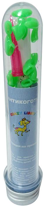 Антикоготки для кошек Crazy Liberty, цвет: темно-зеленый, 20 шт. Размер M30.CL.048